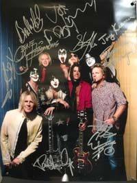 Aerosmith and KISS