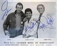 Fabian Frankie Avalon and Bobby Rydell
