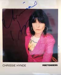 The Pretenders - Chrissie Hynde