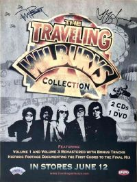 Traveling Wilburys Tom Petty Jeff Lynne